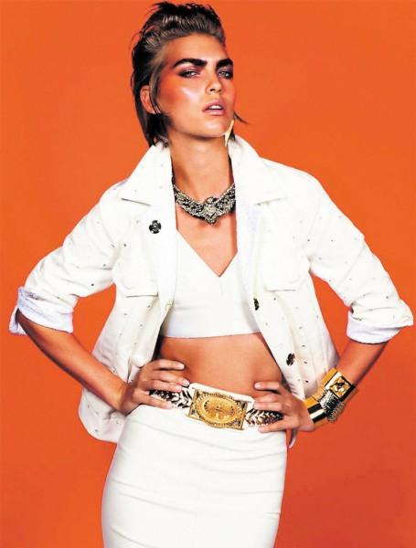 Arizona Muse by Inez & Vinoodh for Vogue Paris December/January 2011.2012