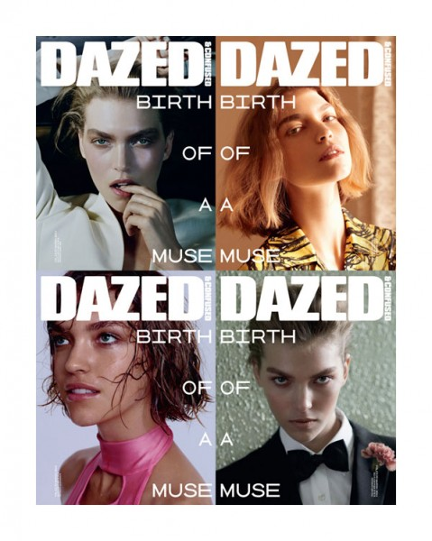 Arizona Muse Covers <em>Dazed & Confused</em> March 2011