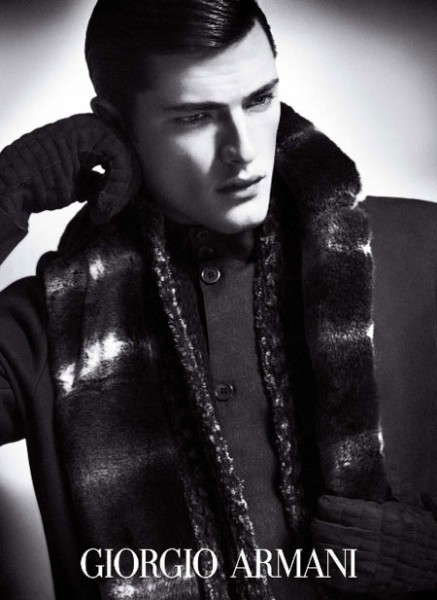 New Giorgio Armani Fall 2009 Ads