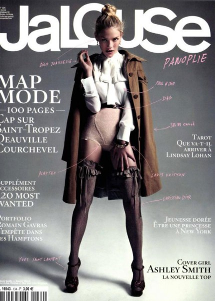 <em>Jalouse</em> October 2010 Cover | Ashley Smith