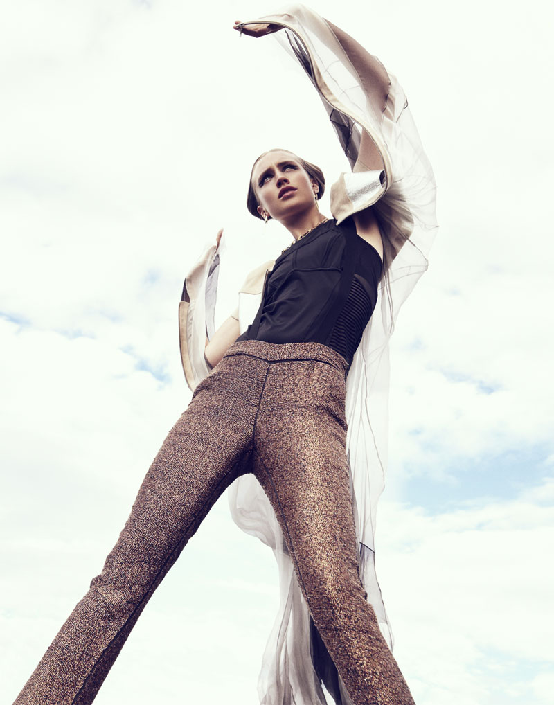 """Karin Hansson by Benjamin Vnuk in """"Atmosphere"""" for Fashion Gone Rogue"""