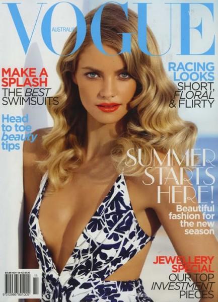 Vogue Australia November 2009 – Elyse Taylor