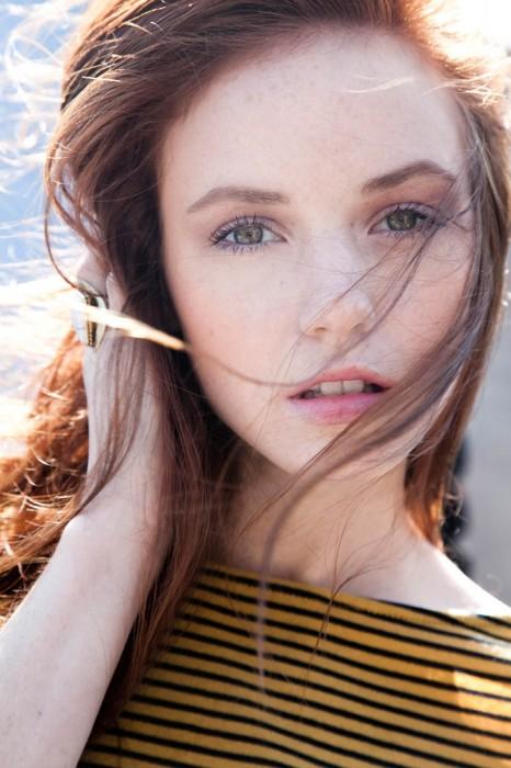 Fresh Face | Audrey Hollister by Tiago Chediak