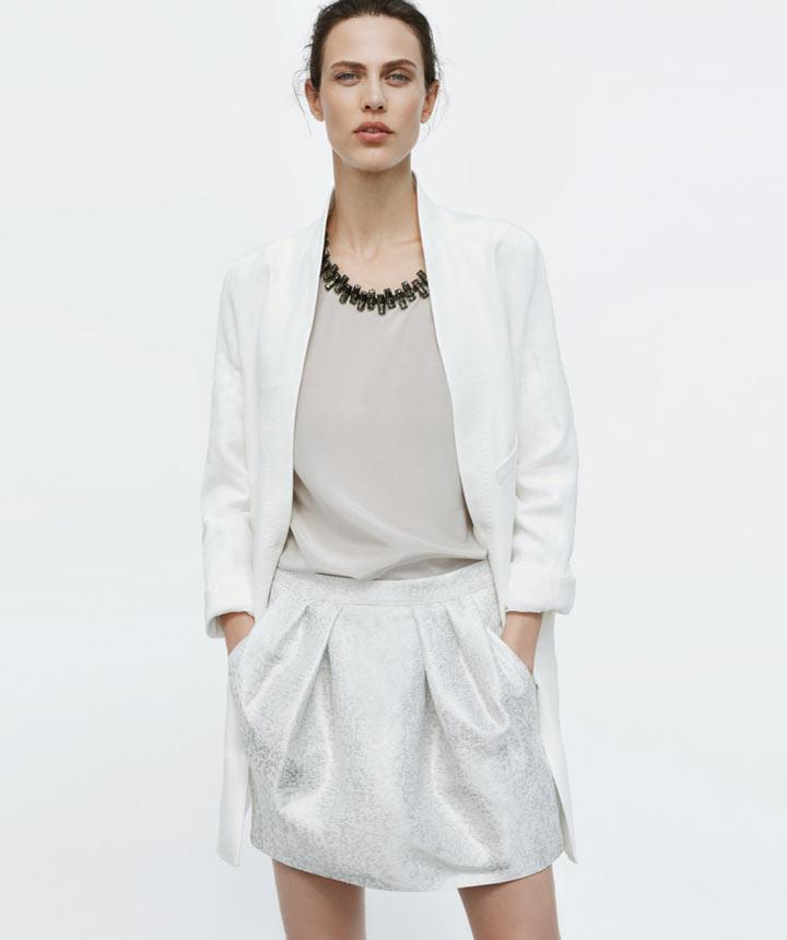 Aymeline Valade Dons Boyish Attire for Zara's June 2012 Lookbook
