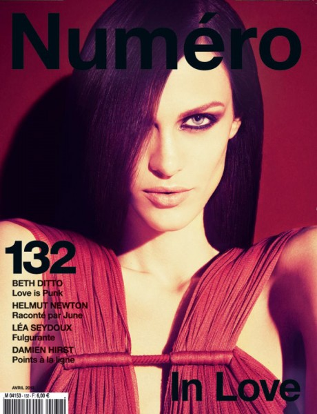 Numéro #132 April 2012 Cover | Aymeline Valade by Sofia Sanchez & Mauro Mongiello
