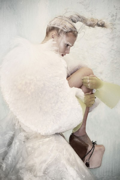 Clara Paget by Damon Baker in Precipitation   Sheer Magazine #1
