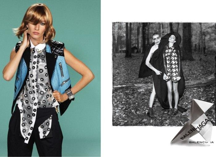 Balenciaga Spring 2011 Campaign Preview | Gisele Bundchen by Steven Meisel