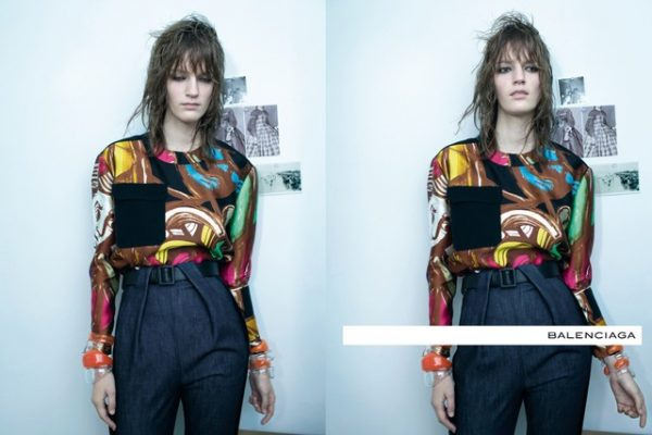 Laura Kampman for Balenciaga Spring 2012 Campaign by Steven Meisel