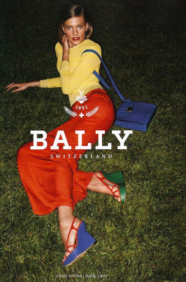 Bally Spring 2011 Campaign Preview   Constance Jablonski by Daniel Jackson