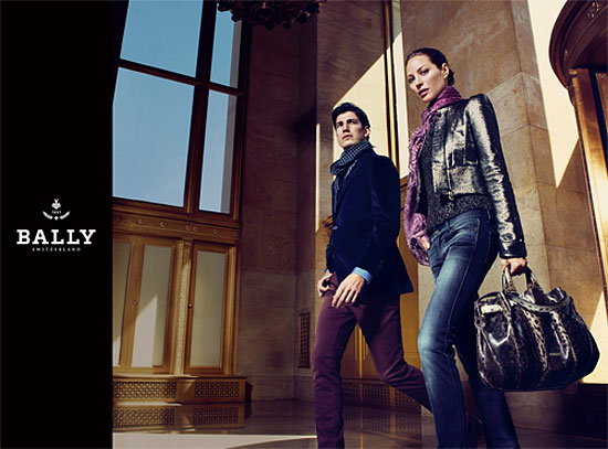 Bally Fall 2009 Campaign by Mario Sorrenti