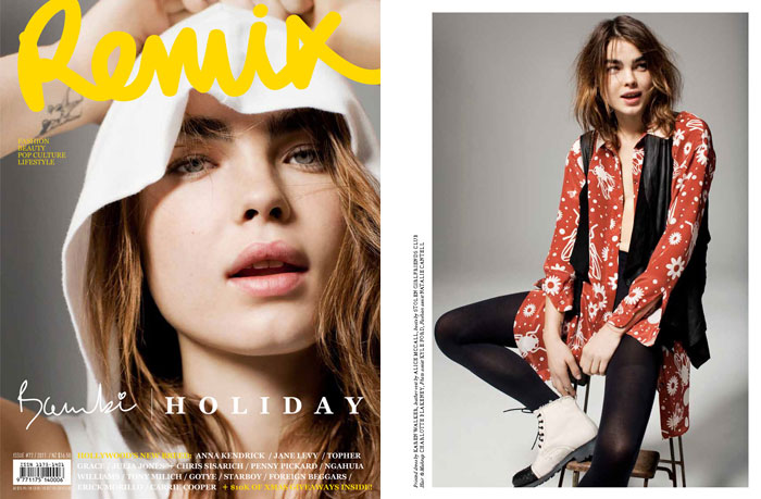 Bambi Northwood-Blyth by Derek Henderson for Remix #72