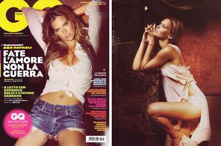 Bar Refaeli in GQ Italy by Guy Aroch
