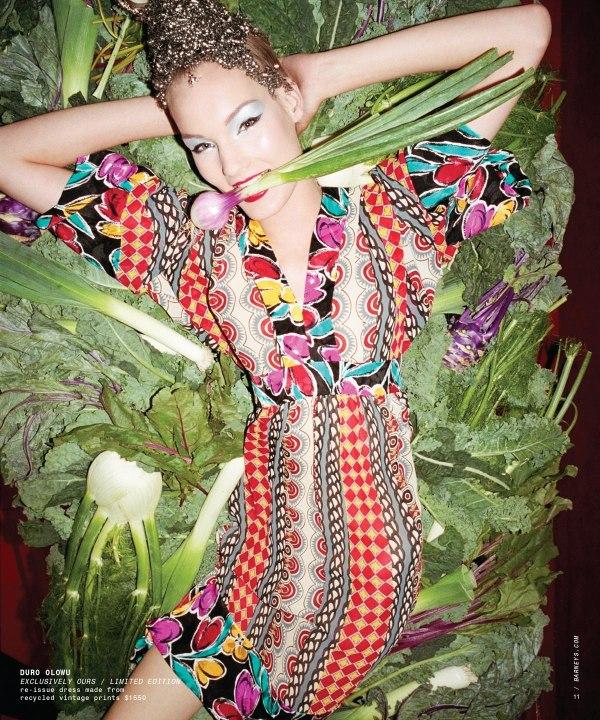 Kirsi Pyrhonen for Barneys Holiday 2010 Catalogue by Magnus Unnar