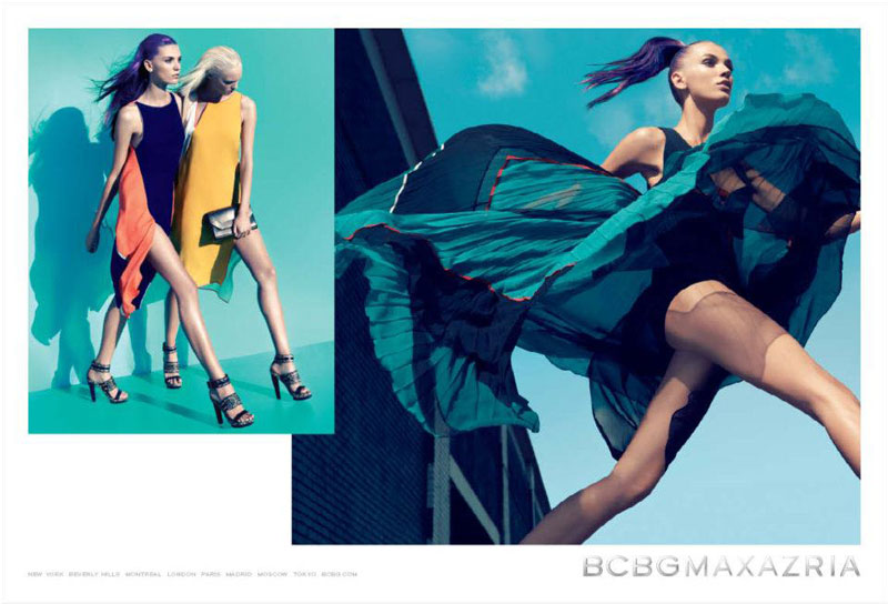 Daniela Mirzac & Theres Alexandersson for BCBG Max Azria Spring 2012 by Camilla Akrans