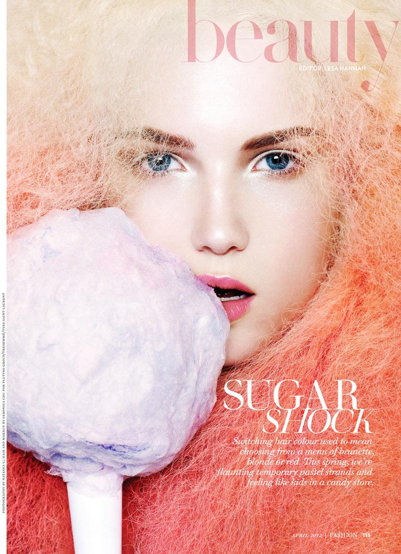 Snap! | Emily Ruhl by Natasha V for Fashion Canada April 2012
