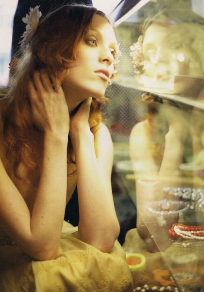 Morning Beauty | Karen Elson by Jo McCaughey