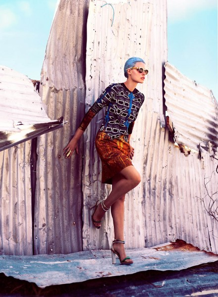 Bekah Jenkins by Chris Nicholls for Flare June 2012