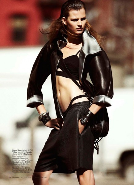 Bette Franke by Benny Horne for <em>Harper's Bazaar Australia</em> January 2012