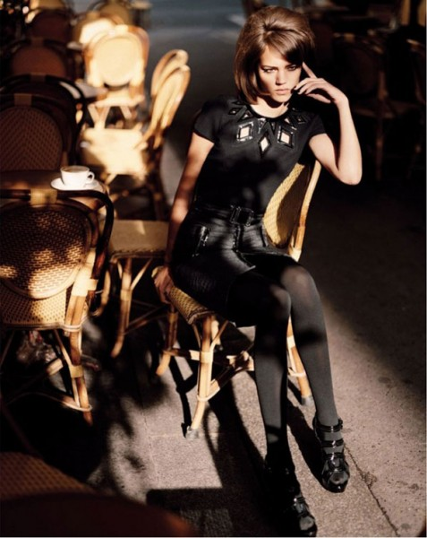 Freja Beha Erichsen in Bergdorf Goodman's Fall Catalogue