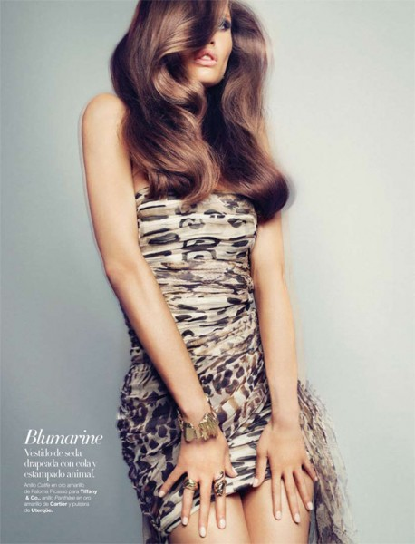 Bianca Balti for <em>Harper's Bazaar Spain</em> September 2010 by Txema Yeste