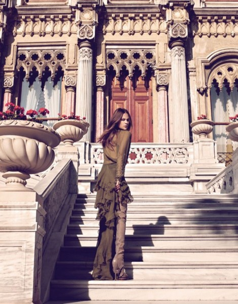 Barbara di Creddo by Koray Birand for <em>Marie Claire US</em> October 2010