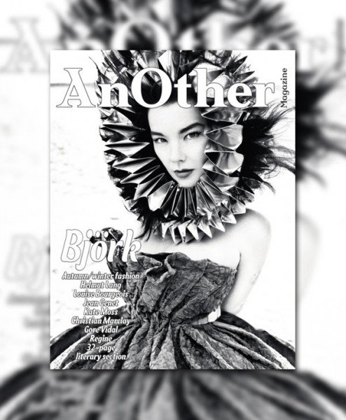 <em>AnOther</em> F/W 2010 Cover | Bjork by Inez van Lamsweerde &#038; Vinoodh Matadin