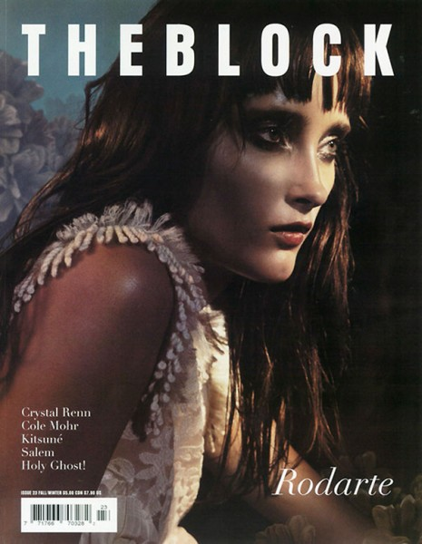 The Block #23 Fall 2010 Cover | Iekeliene Stange by Greg Harris