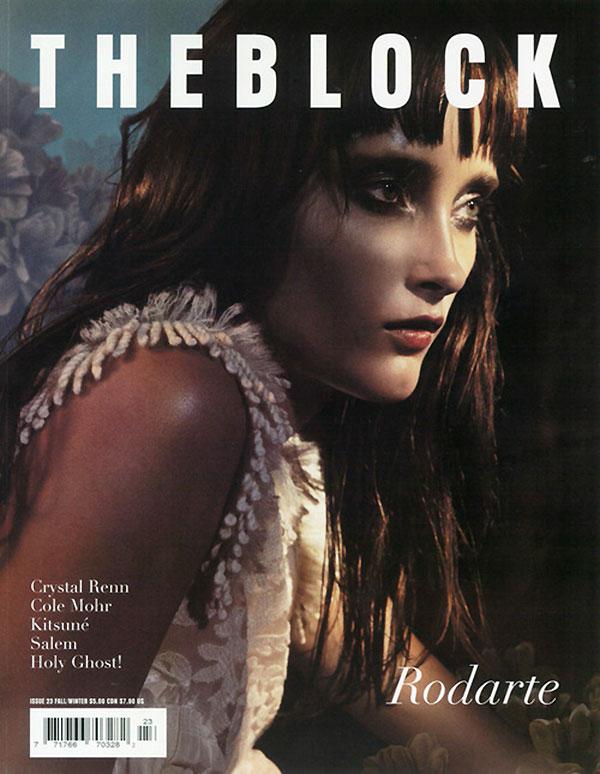 The Block #23 Fall 2010 Cover | Iekeliene Stange by Greg Harris
