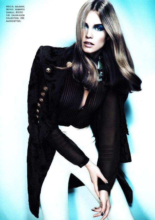 Julija Steponaviciute by Chad Pitman for Numéro China #5