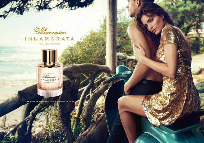 "Alyssa Miller for Blumarine ""Innamorata"" Fragrance Campaign by Michelangelo di Battista"