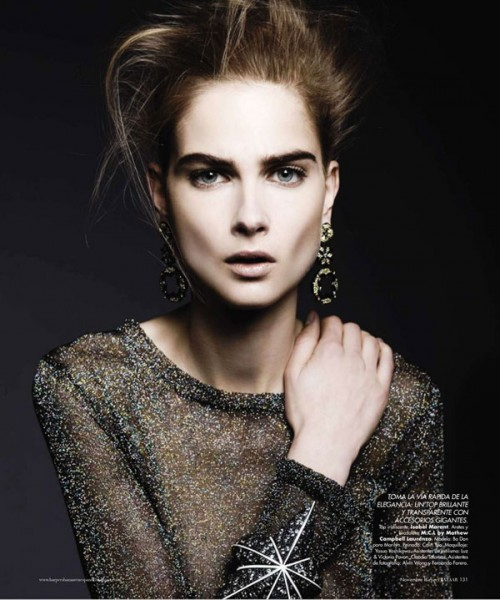Bo Don by Alexander Neumann for <em>Harper's Bazaar Mexico</em> November 2010