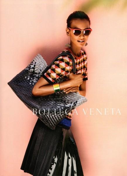 Liya Kebede for Bottega Veneta Spring 2012 Campaign by Jack Pierson