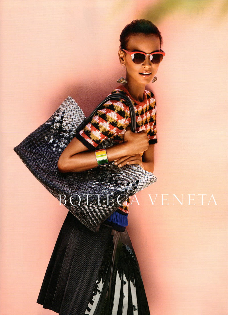 Liya Kebede for Bottega Veneta Spring 2012 Campaign by Jack Pierson