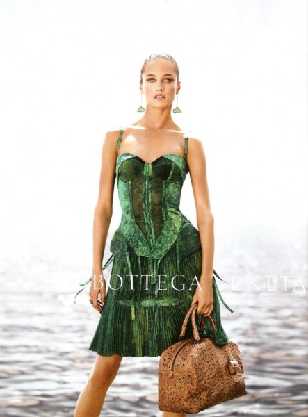Karmen Pedaru for Bottega Veneta Spring 2012 Campaign by Jack Pierson