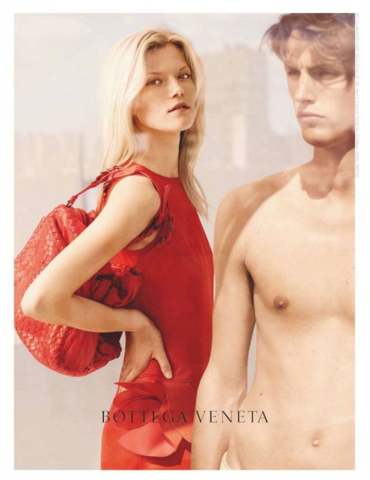 Kasia Struss for Bottega Veneta Resort 2012 Campaign by Mona Kuhn