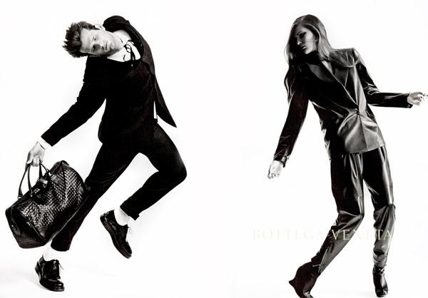 Bottega Veneta Fall 2010 Campaign Preview | Alla K by Robert Longo