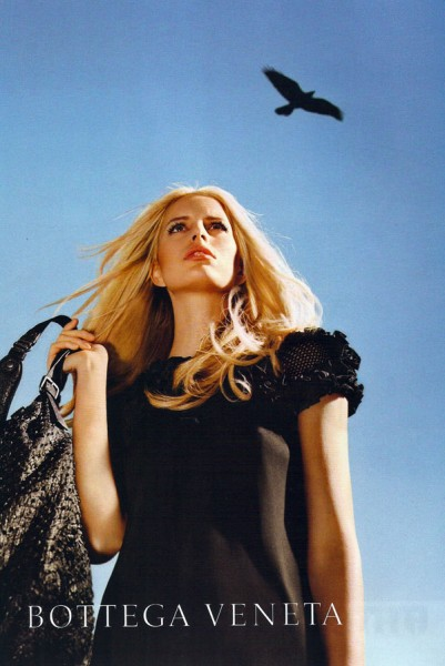 Bottega Veneta Spring 2011 Campaign Preview   Karolina Kurkova by Alex Prager