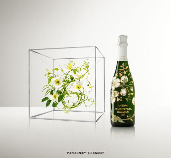 Perrier-Jouët Collaborates with Artist Makoto Azuma for Limited Edition Bottle