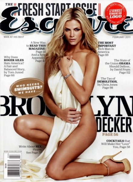 Brooklyn Decker for <em>Esquire</em> February 2011 by Yu Tsai (Cover)