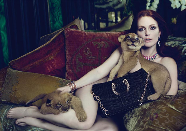 Bulgari Fall 2010 Campaign | Julianne Moore by Mert & Marcus