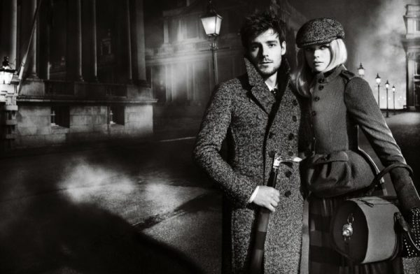 Gabriella Wilde & Roo Panes Front Burberry's Cinematic Fall 2012 Campaign by Mario Testino