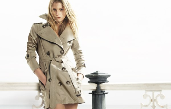 Sigrid Agren for Burberry Blue Label Spring 2011 Campaign