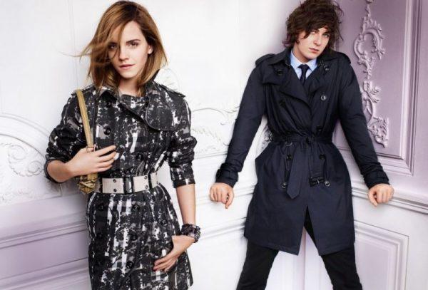 Burberry Spring 2010 Campaign | Emma Watson by Mario Testino