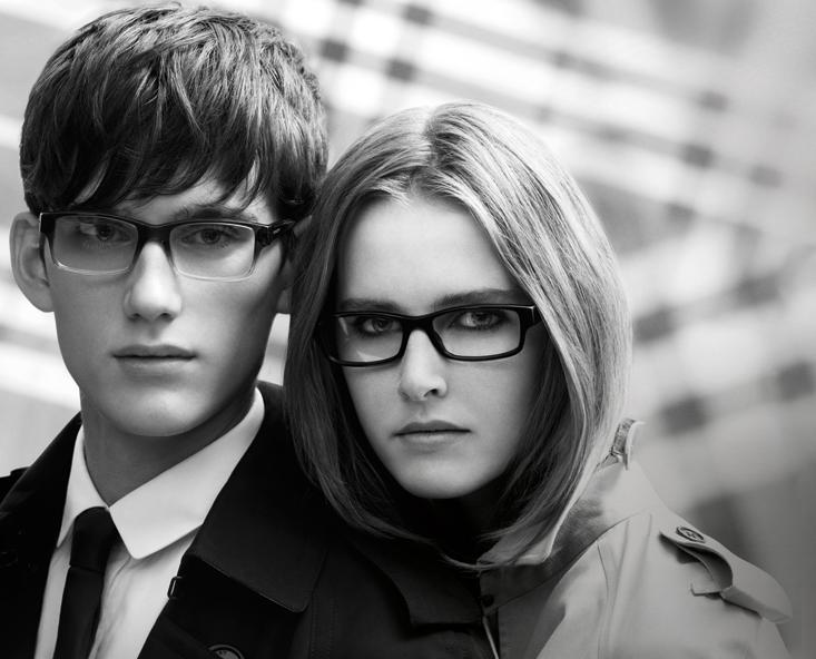 Burberry Eyewear Spring 2010 Campaign | Lisanne De Jong