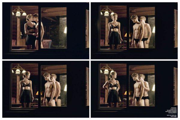 Carolyn Murphy by Sebastian Faena | V Magazine