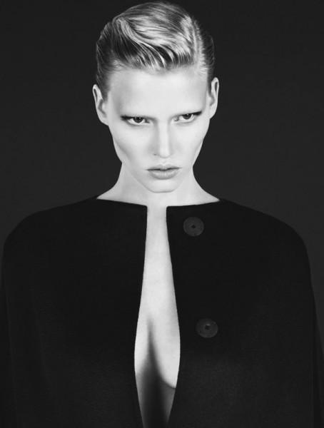 Calvin Klein Fall 2010 Campaign | Lara Stone by Mert & Marcus