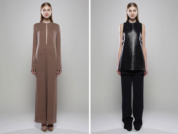 Calvin Klein Pre-Fall 2011: Simona Andrejic