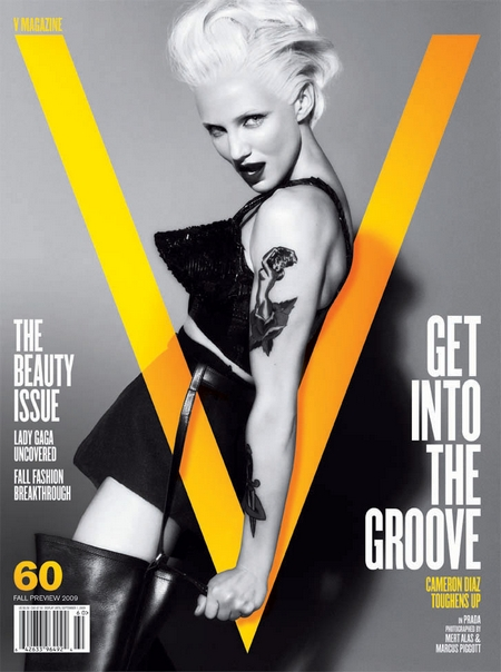 Cameron Diaz is a Rebel for V #60
