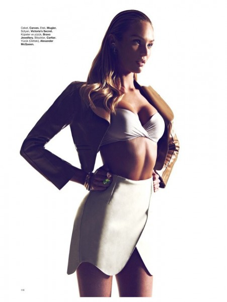 Candice Swanepoel by Koray Birand for <em>Harper&#8217;s Bazaar Turkey</em> January 2012