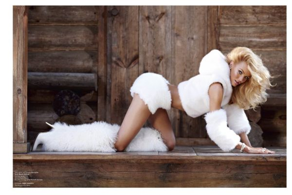 Candice Swanepoel by Sebastian Faena for V Magazine #74